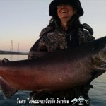 Upper Columbia River Fall King Salmon fishing 2 - TeamTakedown Guide Service